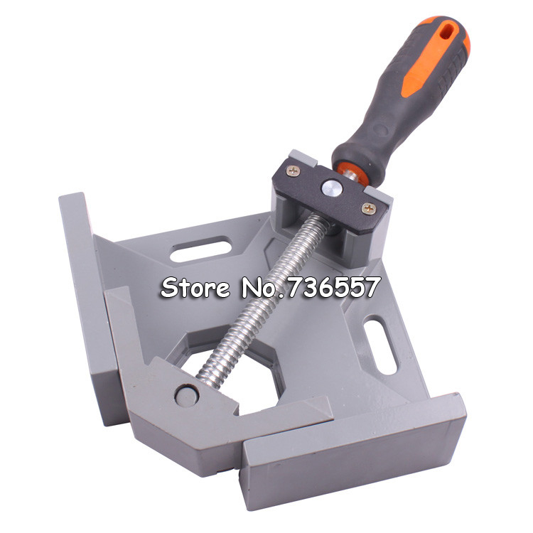 NEW Hand Tool 90 Degrees Fix Right Angle Clip Angular Splint Swing Jaw Corner Clamp Woodworking Frame Aquarium Mounting Clips