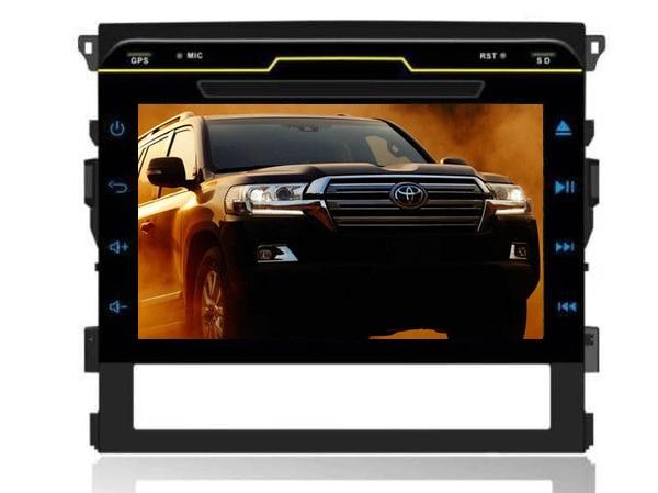 Android 6.0 Quad Core Android DVD, пригодный для Toyota Landcruiser LAND CRUISER LC200 2016 GPS Bluetooth радио Wi Fi 3G карта камеры