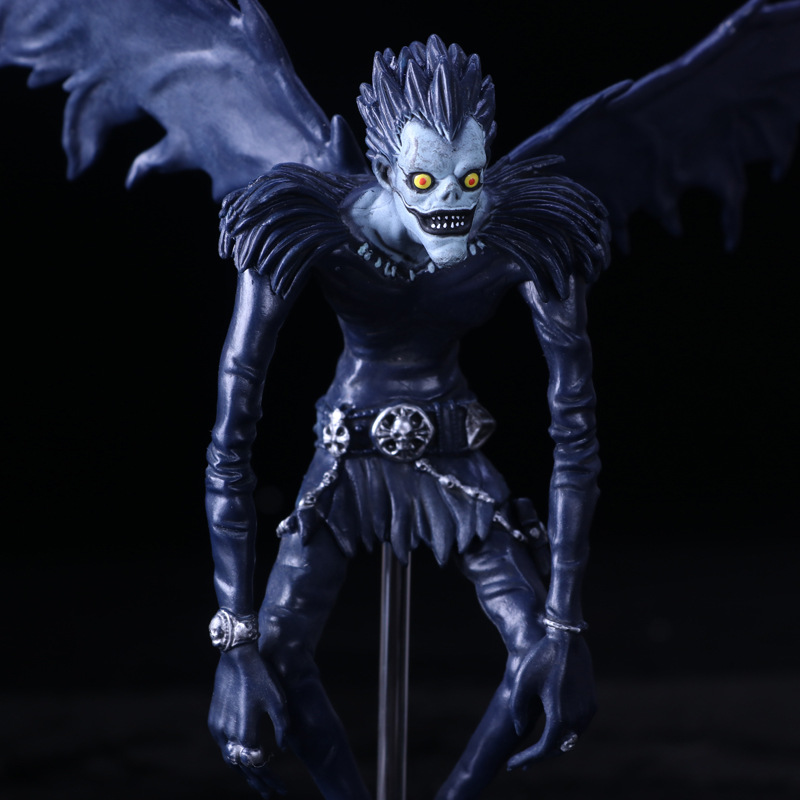 2018 New 24CM Death Note L Ryuuku Ryuk PVC Action Figure Anime Collection Model Toy Dolls Children's Toys Christmas Gift anime action figure toy death note ryuuku pvc pop figurine action model toys anime figures japanese figure doll free shipping