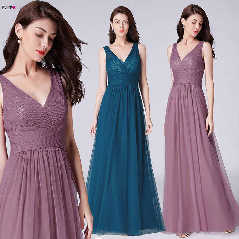 4858abaace294 Detail Feedback Questions about Navy Blue Prom Dresses Long Ever ...