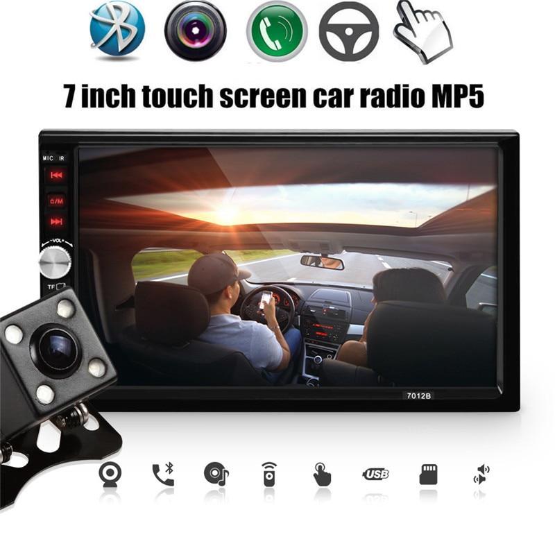 7012b 7 pulgadas dual core bluetooth tft pantalla 2-din car audio estéreo Reprod