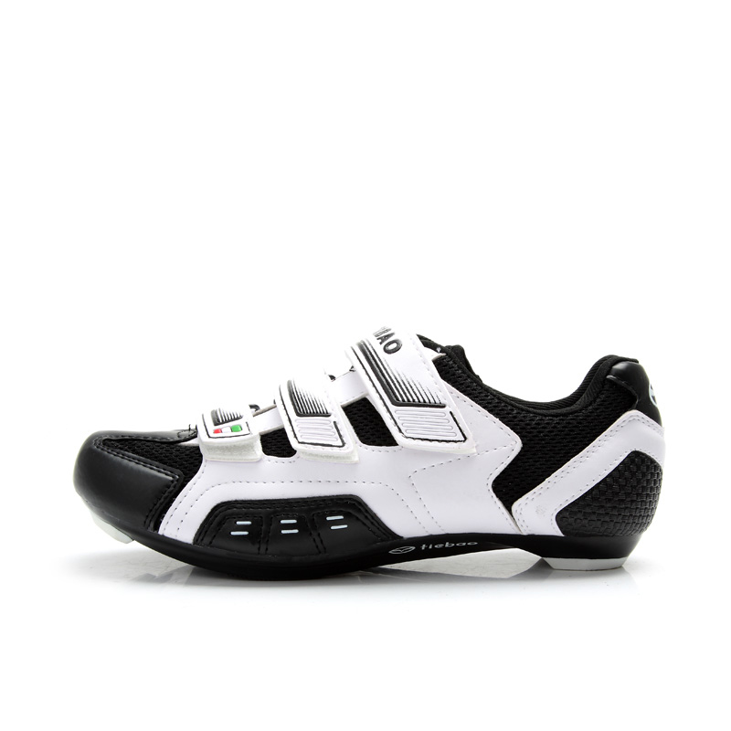 f62b511fbad665 TIEBAO R943 Men Women Road Cycling Shoes Indoor And Outdoor Riding Bike  Shoes Perforated EVA Insole Bicycle Shoes-in Cycling Shoes from Sports ...