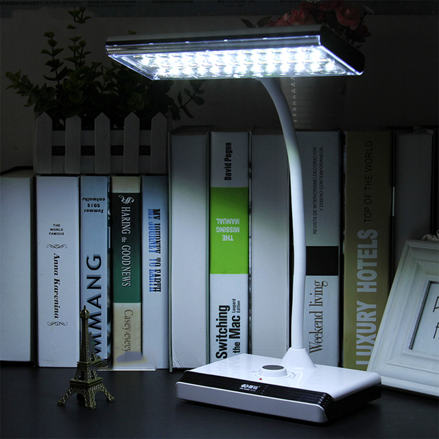 reading students learn to read LED eye lamp dimming study Bai Huangguang rechargeable table lamp plug book light
