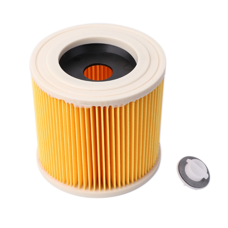 Replacement Air Filter Cartridge For Karcher A2004 A2054 Wet&Dry Vacuum Cleaner replacement filter for karcher a wd series vacuum cleaner cartridge filter for a2004 wd2 250 vacuum cleaner acc spare part 2pcs