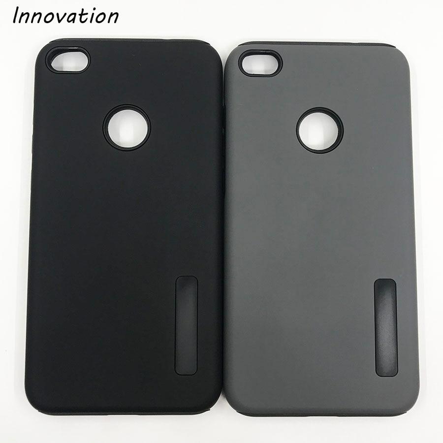 Inovação Para a Huawei P8 Lite 2017 Caso Moda De Luxo Armadura PC + TPU Silicone Suave Telefone Capa Fundas P8 lite 2017 Coque