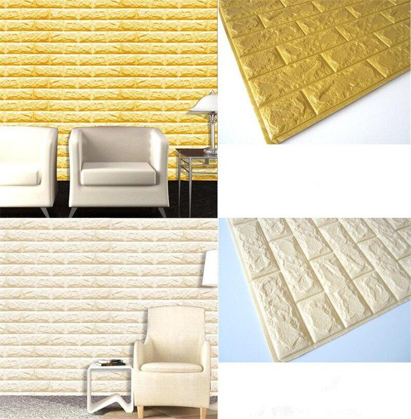 Decorative Foam Wall Tiles 100100cm Waterproof 100D Wall Sticker ...
