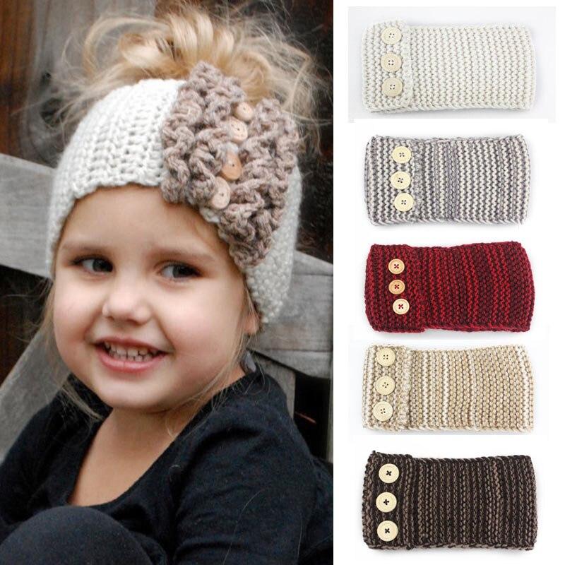 Nodo Della Fascia di Inverno Crochet Appena Nato Testa dell involucro dell  orecchio Dello d7bdc587ae6e
