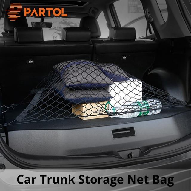 Car Trunk Storage >> Partol Universal Elastic Nylon Car Trunk Storage Net Organize Cover