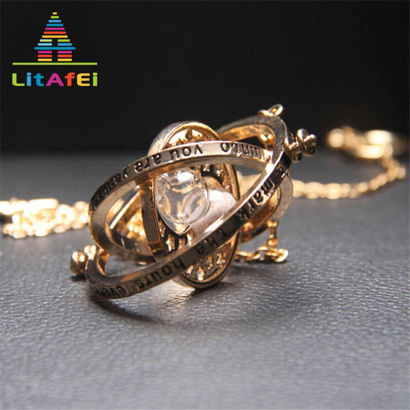 Necklace Jewelry Gold Color Cross Multilayer Necklace Pendant Necklaces 4 Color Hourglass For Women Girl Decoration Gift