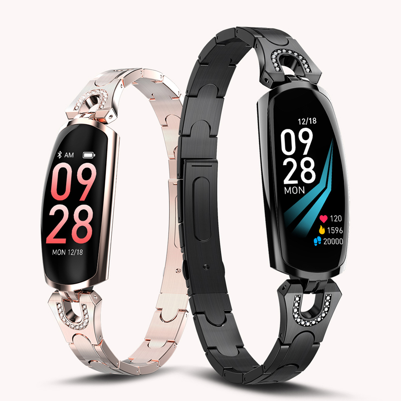 Fashion Women's Smart Watch Waterproof Sport Women Bracelet Luxury Blood Pressure Sleep Monitor Smartwatch Phone Watches Clock|Women's Watches| |  - title=