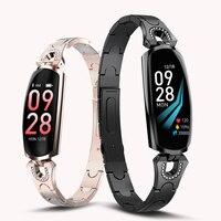 Fashion Women's Smart Watch Waterproof Sport Women Bracelet Luxury Blood Pressure Sleep Monitor Smartwatch Phone Watches Clock