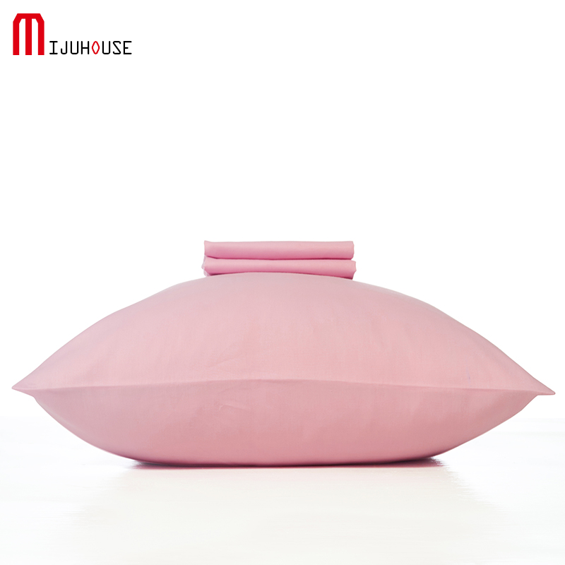 Modern Style Envelope Type Pillowcase Solid Sanding <font><b>Pillow</b></font> <font><b>Case</b></font> For Healthy Standard Polyester Pillowcases Size 50x75cm <font><b>50x90cm</b></font> image