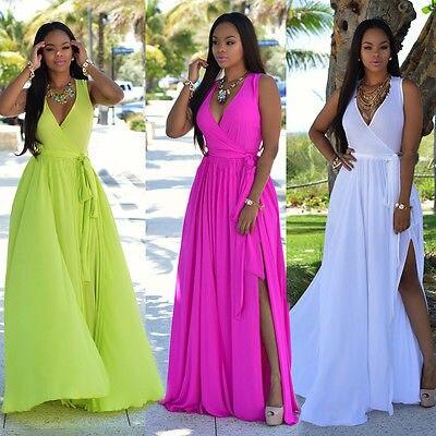 682945161 Vestidos النساء مثير فستان صيفي بوهو ماكسي لونغ حزب النساء اللباس الشاطئ  اللباس فستان الشمس. Click here to Buy Now!!