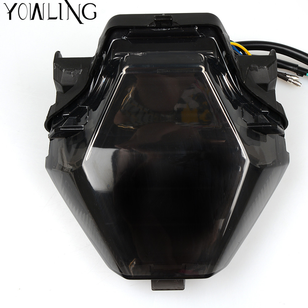Motorcycle Light For YAMAHA MT-07 MT-25 MT-03 YZF R25 R3 Integrated LED Tail Light Turn signal Blinker MT07 FZ07 2014 -2016 2017 for yamaha fz 09 mt 09 fj 09 mt09 tracer 2014 2016 motorcycle integrated led tail light brake turn signal blinker lamp smoke