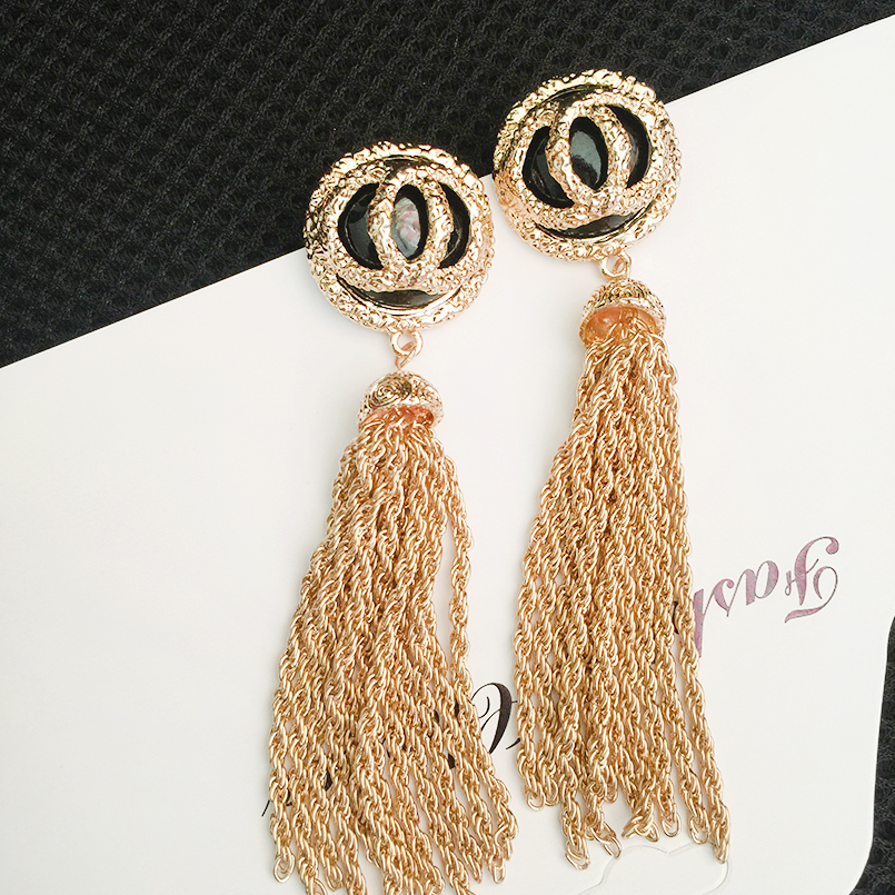 double long Tassel earrings drop pearl earrings boucles d'oreilles pendantes boho jewelry dangle earrings brinco longo oorbelle colorful boho earrings