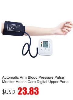 Gustala Automatic Digital Sphygmomanometer Wrist Cuff Arm Blood Pressure Monitor Meter Gauge Measure Portable Bracelet Device 2