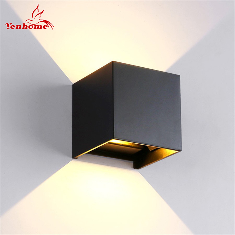 10W LED Wall Lights Outdoor Waterproof IP65 Modern Nordic style Indoor Wall Lamps for Living Room Porch Garden Lamp AC90-260V 18w led outdoor waterproof wall light ip65 modern nordic style indoor wall lamps living room porch garden lamp ac90 260v lp 42
