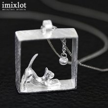 Kitty Square Necklaces & Pendants