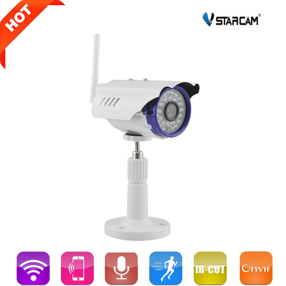 Vstarcam C7815WIP 720P HD Wireless IP Camera Wifi Outdoor Waterproof IR-Cut Support 128G TF Card CCTV Cam Home Protection vstarcam c7815wip 1 0 mp 720p outdoor waterproof wireless ip network camera w onvif2 0 tf us plug