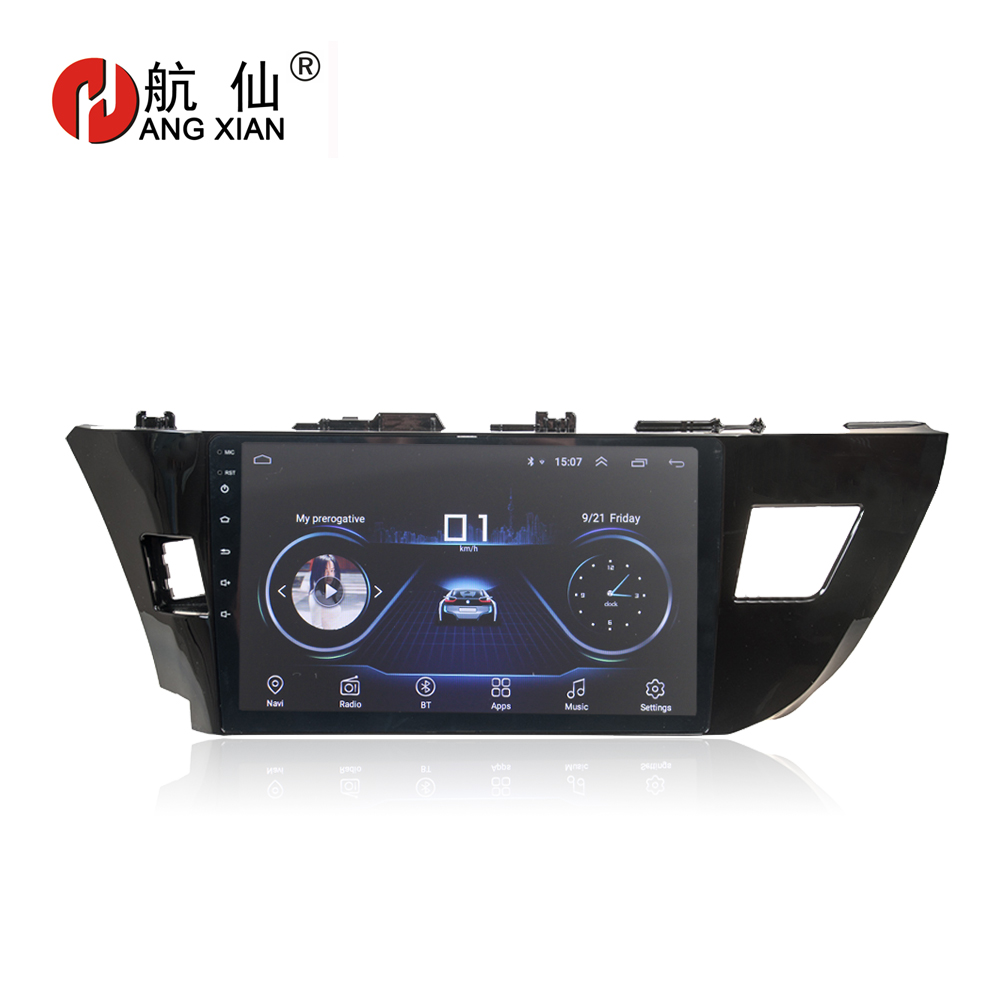 "HANG XIAN 10.1"" Quadcore Android 8.1 Car radio stereo for Toyota Levin 2014-2018 car dvd player GPS navigation car audio WIFI"