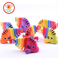 IQANGLE New Hot High Quantity Funny Spring Wind Up Toys Colorful Fish Running Chain Clockwork Children Newborn Baby Toy