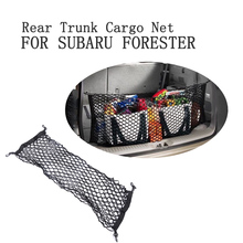 Car Rear Trunk Boot Cargo Net Mesh Storage Organizer Pocket for Subaru Forester 92.5cm*42cm Car Accessories