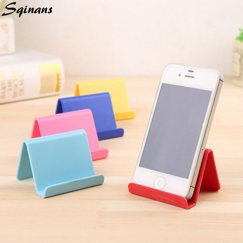 Mobile Phone Holder Mini Portable Fixed Holder Home Supplies Movable Shelf Organizer Holder Stent Stand Storage Phone Holder