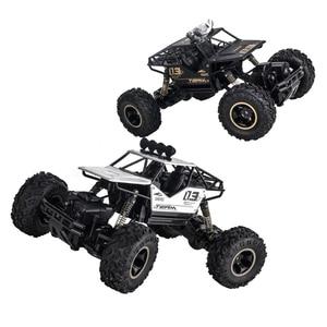 Image 4 - 1:16 4WD RC Car Rock Crawlers Drive Car Double Motors Drive Bigfoot Car Remote Control Car Off road Vehicle Toy Car For Kid