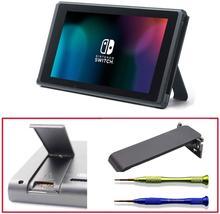 Dealonow Kickstand Vervanging Deel voor Nintendo Switch, Terug Shell Kickstand Houder Reparatie Tool Kit voor Nintendo Switch Console