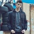 Casaco chaqueta de Algodón para Hombres Jóvenes Hombres de la Capa Ocasional Prendas de Vestir Exteriores Delgada Nuevo Estilo Hombres de la Chaqueta Ocasional prendas de Vestir Exteriores Para Hombre de La Moda Chaquetas 177