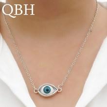 f1a2945b149b NK2041 nueva moda Collar COLGANTE regalo azul de mal de ojo collares de  cadena de la joyería para las mujeres joyería bisutería .
