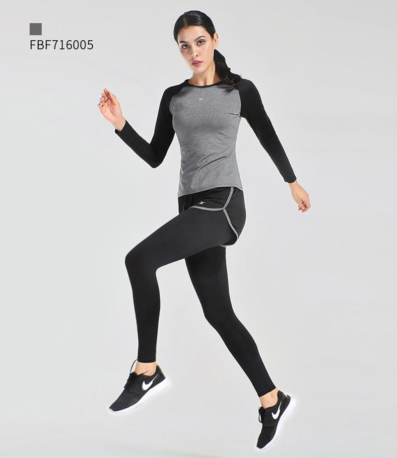faa5f593c80 2019 Vansydical Women'S Yoga Shirts Tops Long Sleeve Splice Fitness ...