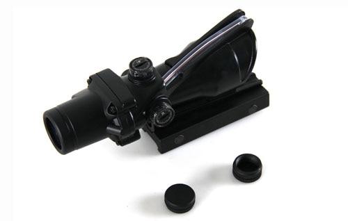 Воздух мягкий прицел acog Тип 4x32 стиль пневматического оружия прицел с 22мм Крепление для страйкбола пистолет боевой