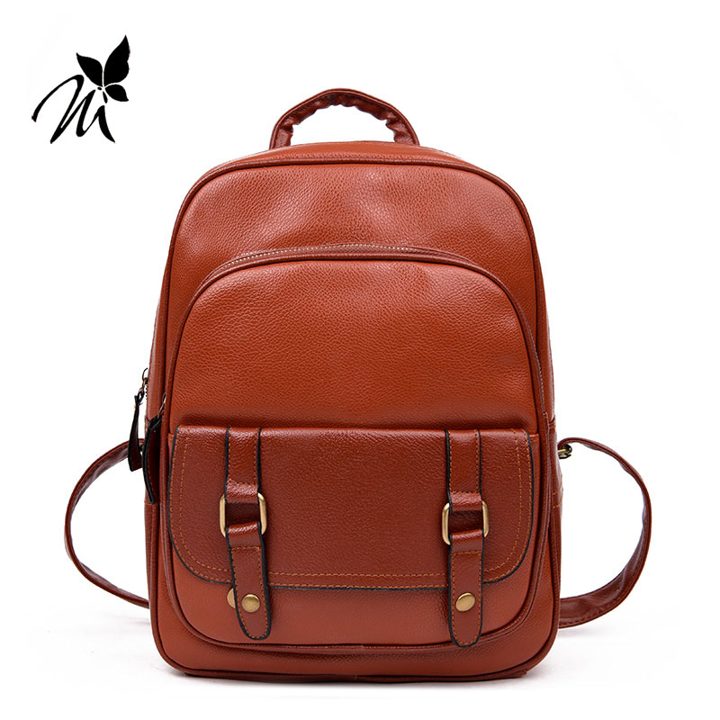 han edition tide restoring ancient ways British backpack belt decoration high school bag of double female bag back concept of vortex female student individuality creative watch han edition contracted fashion female table