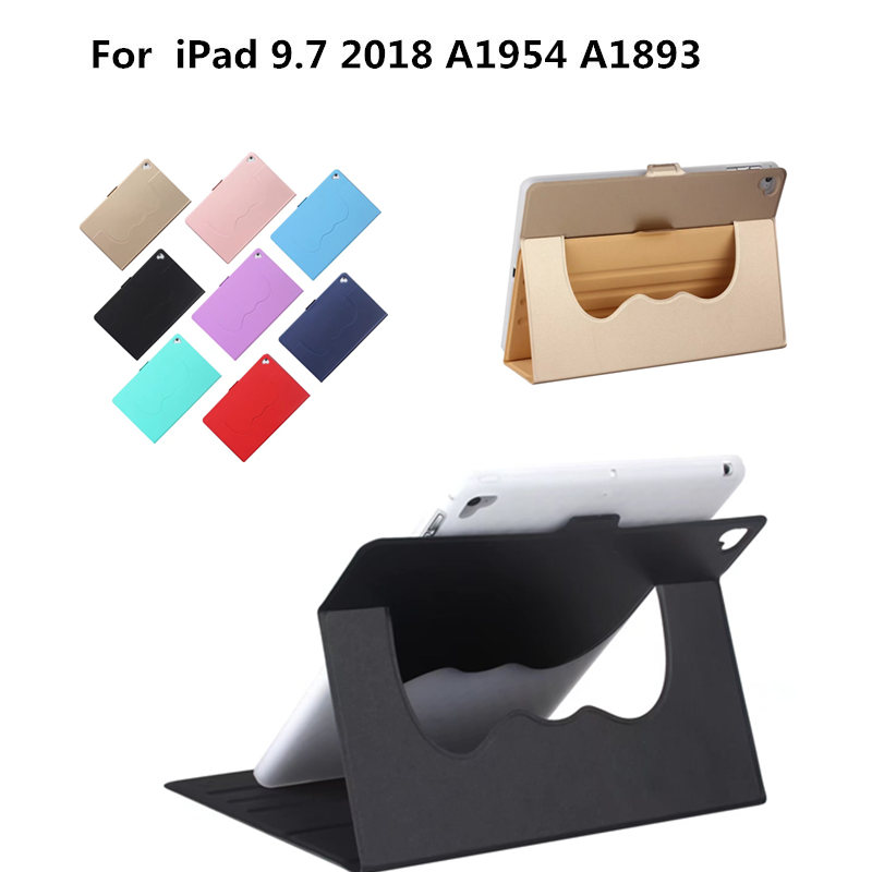 Luxury PU Leather Flip Stand Smart Cover For New iPad 9.7 inch 2018 A1954 A1893 Protective Case for Apple iPad 9.7 inch Tablet