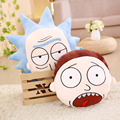 25-50cm Plush stuffed Rick and Morty movies around toy cushions Cartoon anime doll Marty & Dr. Real Adventure Xmas gift for kids
