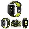 Силиконовые Спортивные Группы Ремешок Для Apple Watch iWatch Серии 1 и Серии 2 38 мм 42 мм Замена Браслет