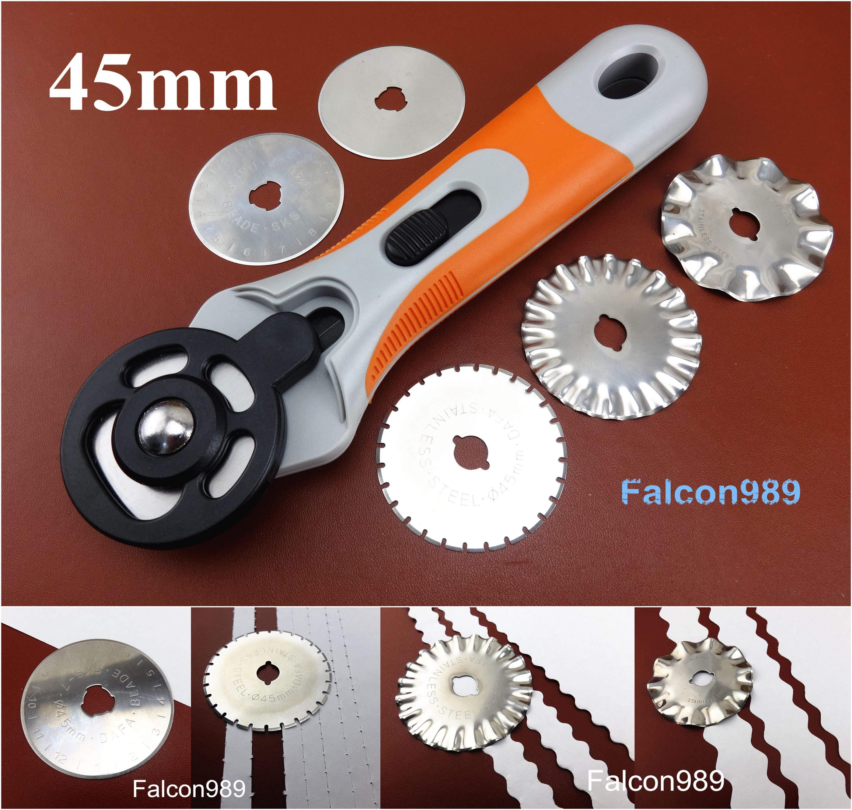 Rotary Cutter /& Circle Compass Cutter A4 Cutting Mat Leather Craft Tool Set Kit