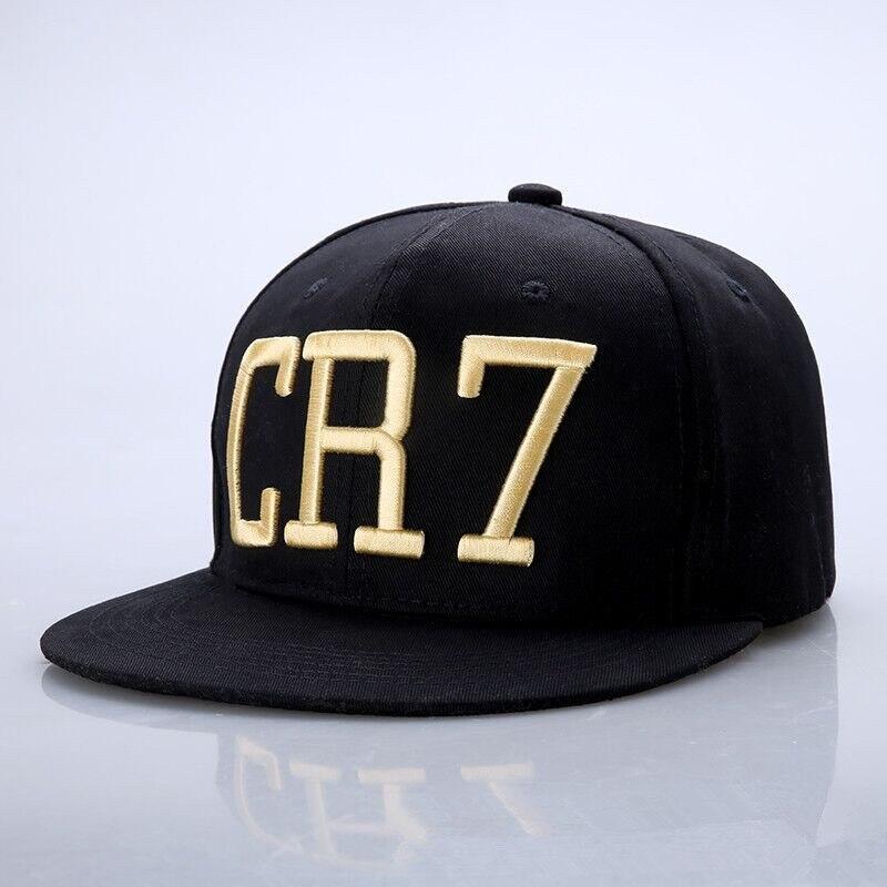 8925d4ff09aef CR7 Cristiano Ronaldo Snapback Baseball Cap Flat Hats For Men ...