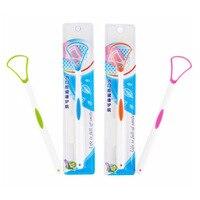 Щетка для языка Язык чистящее средство для чистки языка зубная щетка cleanering свежее дыхание удалить скребок для покрытия для оральный уход за