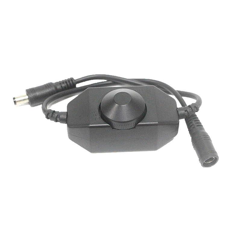 Мини светодиодный переключатель света фар, яркость Регулируемый контроллер для 2835 3014 3528 5050 5630 5730 12 V 24 V Одноцветный RGB Светодиодные ленты света