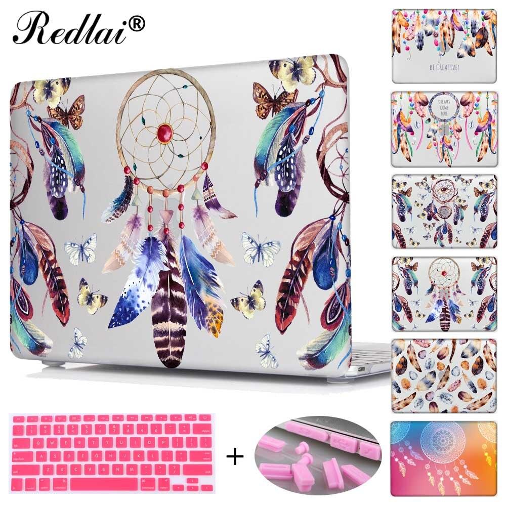 Redlai Colorful Feathers Print Hard Case For Macbook Air 13 A1466 Images La4550 Audio Amplifier Circuit A1369 Laptop Bag Mac Book Pro 15 Touch Bar A1706 A1707