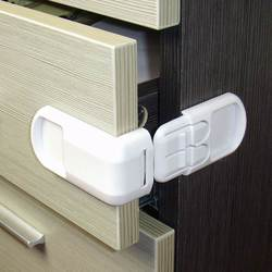 5 Pcs/Lot Baby Safety Child Lock Drawer Cabinet Closet Safe Lock Functional Kids Fridge Safety Protection security Toilet Lock