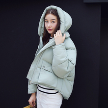 2016 women's winter jackets fashion with a hood clothing short design down coat female thickening  plus size  outerwear women