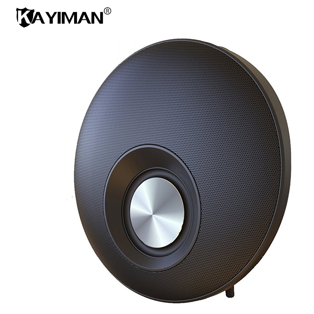 Bluetooth Speaker Portable Stereo Sound Loudspeaker Box Subwoofer Speaker with Hands-free Mic Support TF Radio KAYIMAN portable wireless bluetooth column speaker stereo subwoofer support usb sound box tf fm radio with mic dual bass loudspeaker