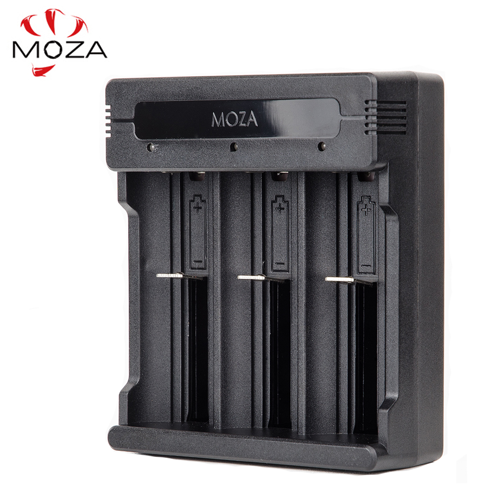 MOZA Moza Air Battery Charger with DC 5V Max: 2A Input for Li-ion Battery 26650 26350 18650 14500 for MOZA кеды moza x moza x mo054ambfzf6
