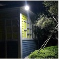 outdoor super bright Solar LED lamp waterproof body induction sound-control street lamp
