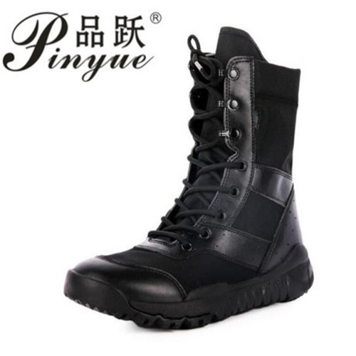 d89a46f1c81 Summer Military Tactical Super light Solid Mens Boots Army Combat Lace-up  Ankle Boot Size 36-46