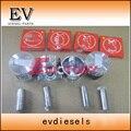 Alfin Тип S4L S4L2 поршневое и поршневое кольцо для Mitsubishi S4L Peljob EB350 EB406 экскаватор