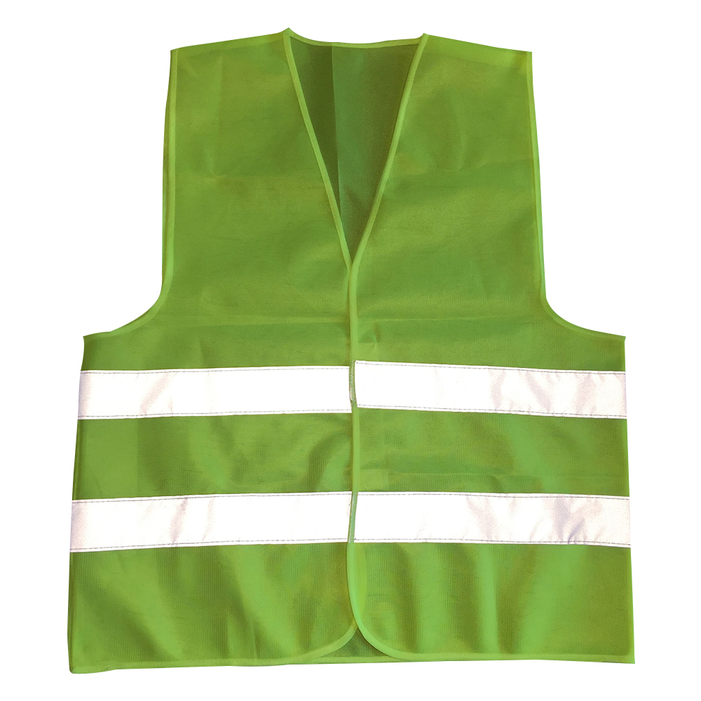 Car vest 1pcs-10pcs Plus Size L-3XL Reflective Vest Working Clothes Provides High Visibility Day Night For Warning Safety vest safety reflective vest highlight reflector stripe for day night working